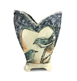 Laurie Shaman Heart Vase