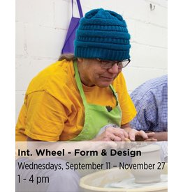 NCC Intermediate Pottery - Focus on Form & Design