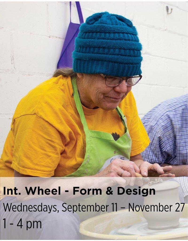 NCC Intermediate Pottery - Focus on Form & Design