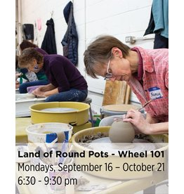 NCC SOLD OUT: Land of Round Pots - Wheel Throwing 101