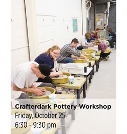 NCC Crafterdark Pottery Workshop
