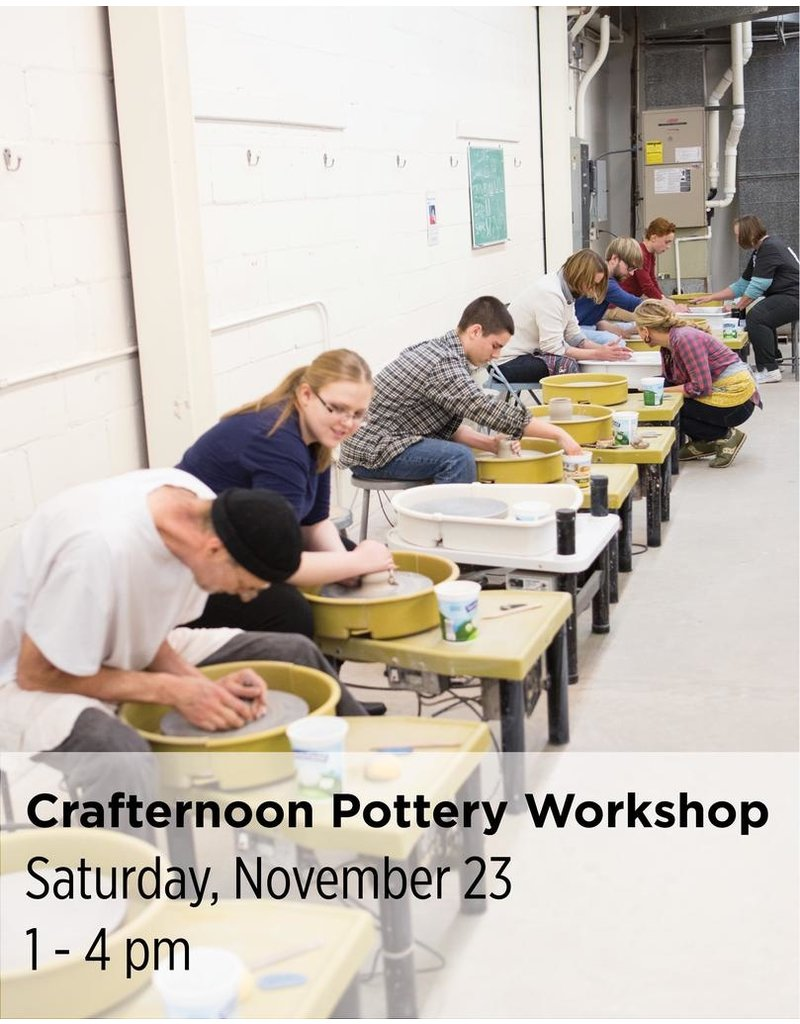 NCC Crafternoon Pottery Workshop