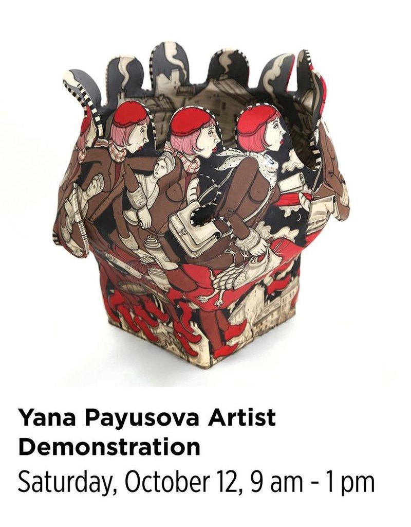 NCC Yana Payusova Artist Demonstration