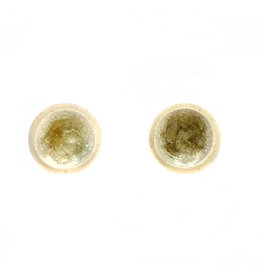 Tricia Schmidt Yellow Bowl Earring