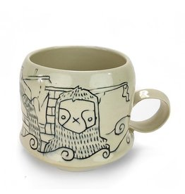 Tricia Schmidt Sea Sloth Mug
