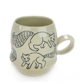 Tricia Schmidt Squirrel Mug
