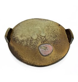 Joe Singewald Woodfired Plate with Handles