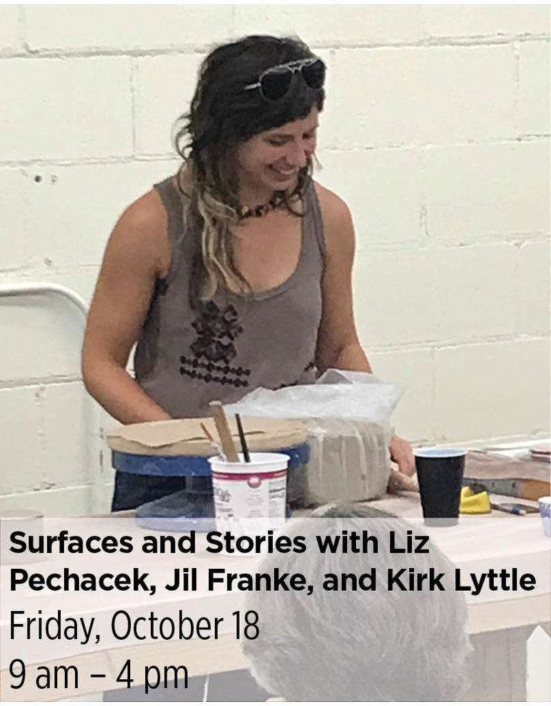 NCC Surfaces and Stories: Friday with Liz Pechacek, Jil Franke, and Kirk Lyttle