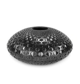 Michael Wisner Platinum Oval Vase