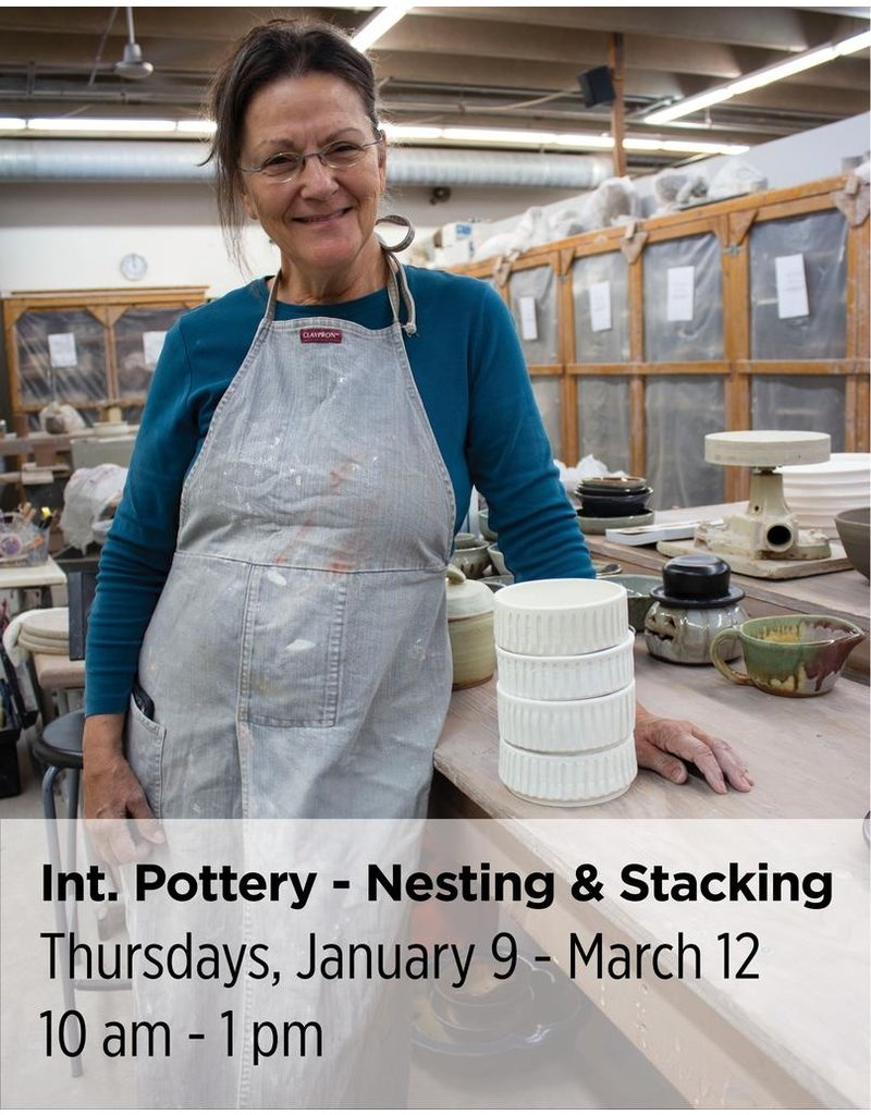 NCC Intermediate Pottery - Focus on Nesting & Stacking