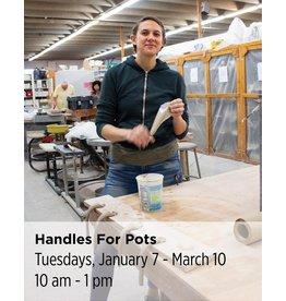NCC Handles for Pots & Pots for Handles