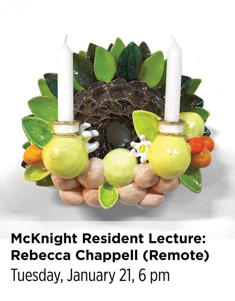 NCC McKnight Resident Artist Lecture: Rebecca Chappell (Remote Login)