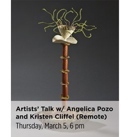 NCC Artists' Talk with Angelica Pozo and Kristen Cliffel (Remote Login)