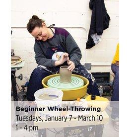 NCC WAITLIST: Beginner Wheel Throwing
