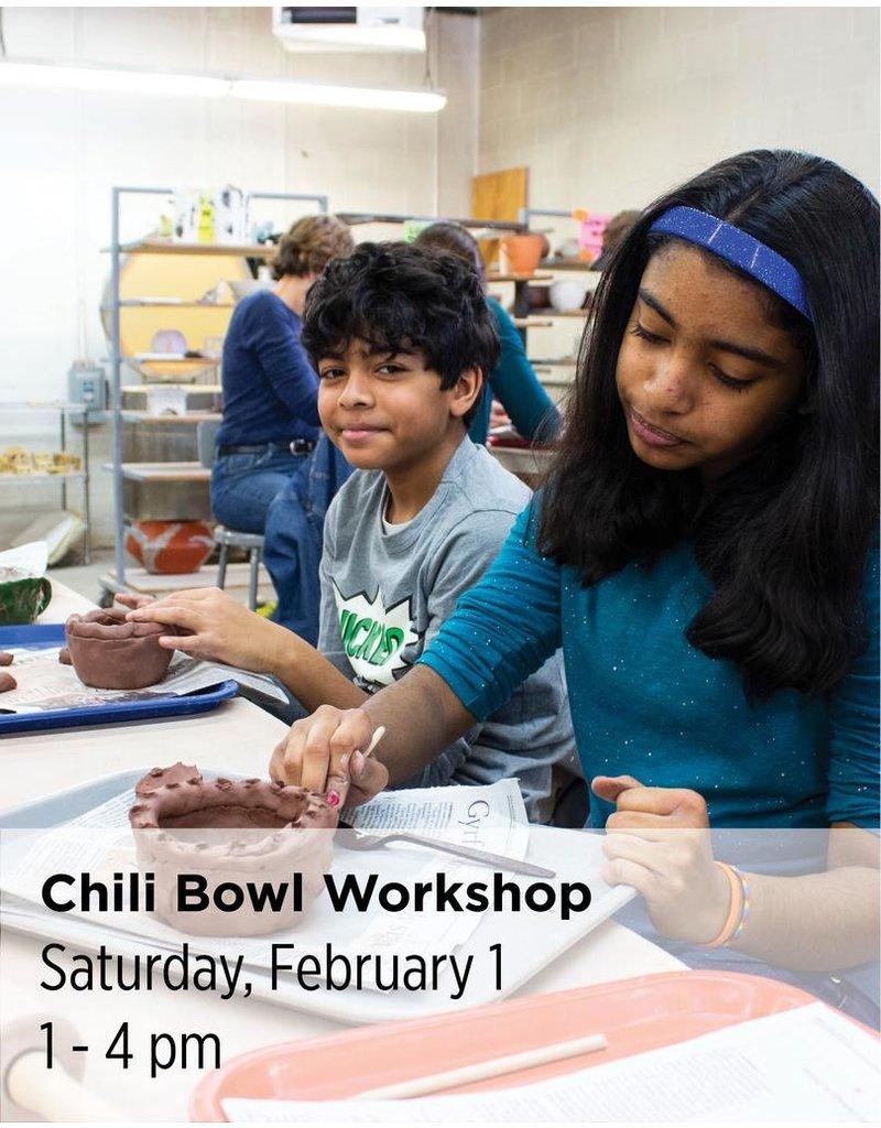 NCC Chili Bowl Workshop