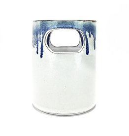Vase with Drippy Rim