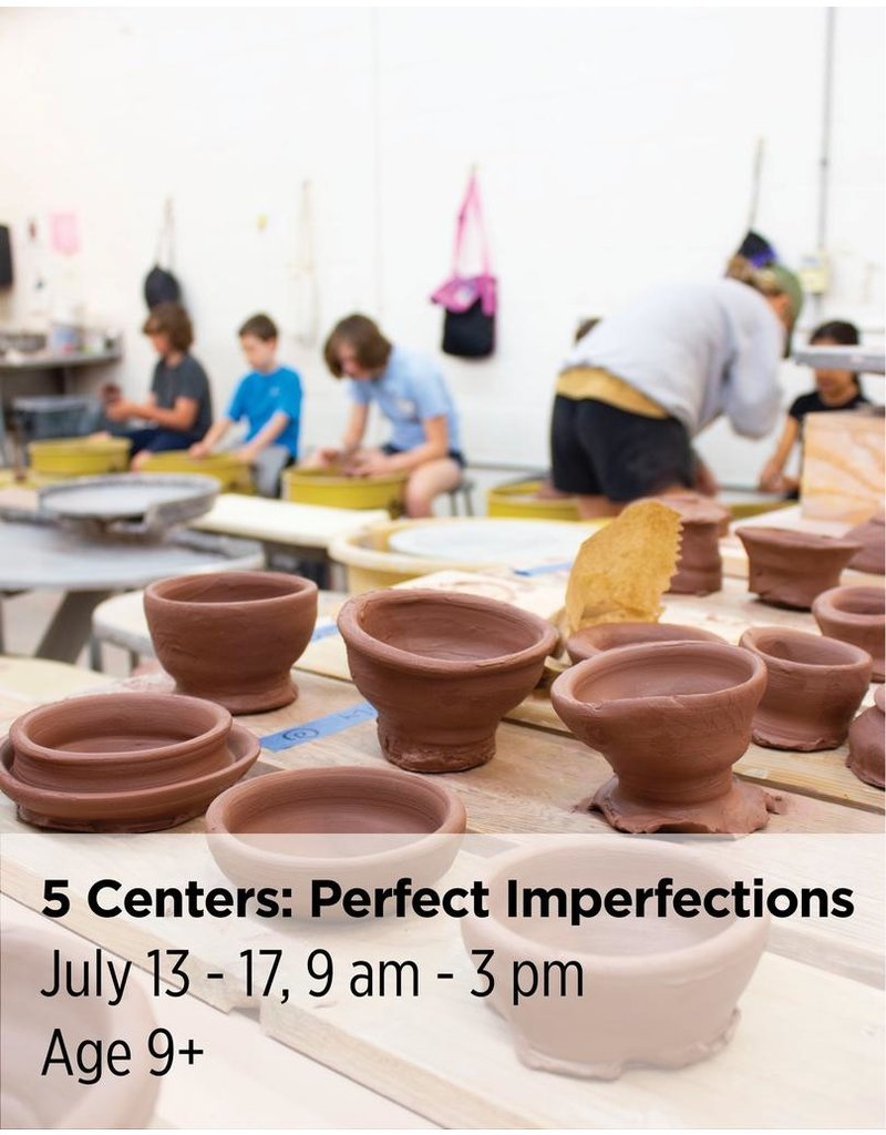 NCC Embrace not only your final creation but also the process to get there. With every step as valuable as the final creation, campers will create works to show off their new-found skills and the process of learning them.