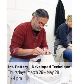 NCC Intermediate Pottery - Focus on Developed Technique & Expression