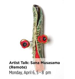 NCC Artist Talk: Sana Musasama (Remote Login)