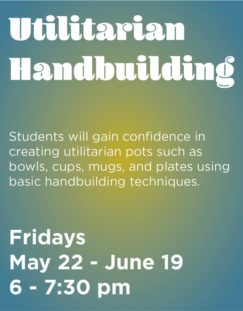 NCC Utilitarian Handbuilding