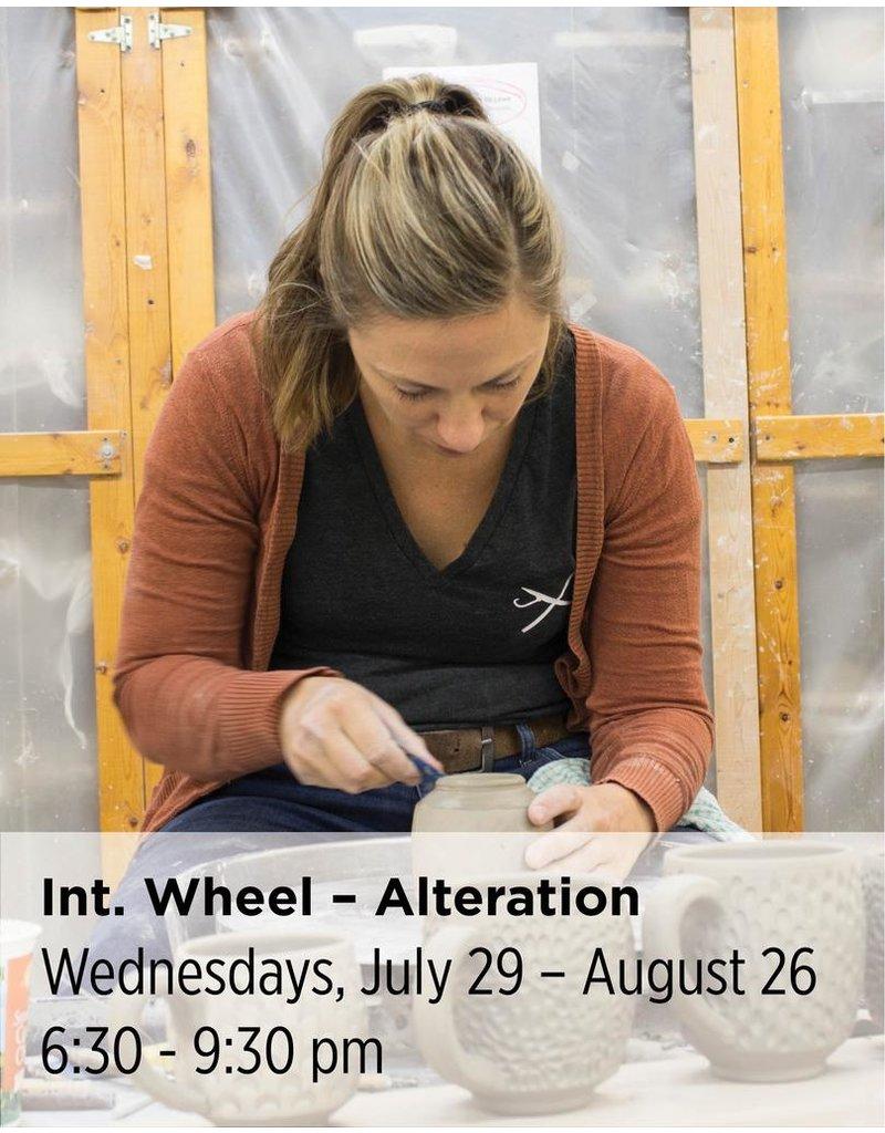 NCC Intermediate Throwing — Wheel 301 — Focus on Alteration