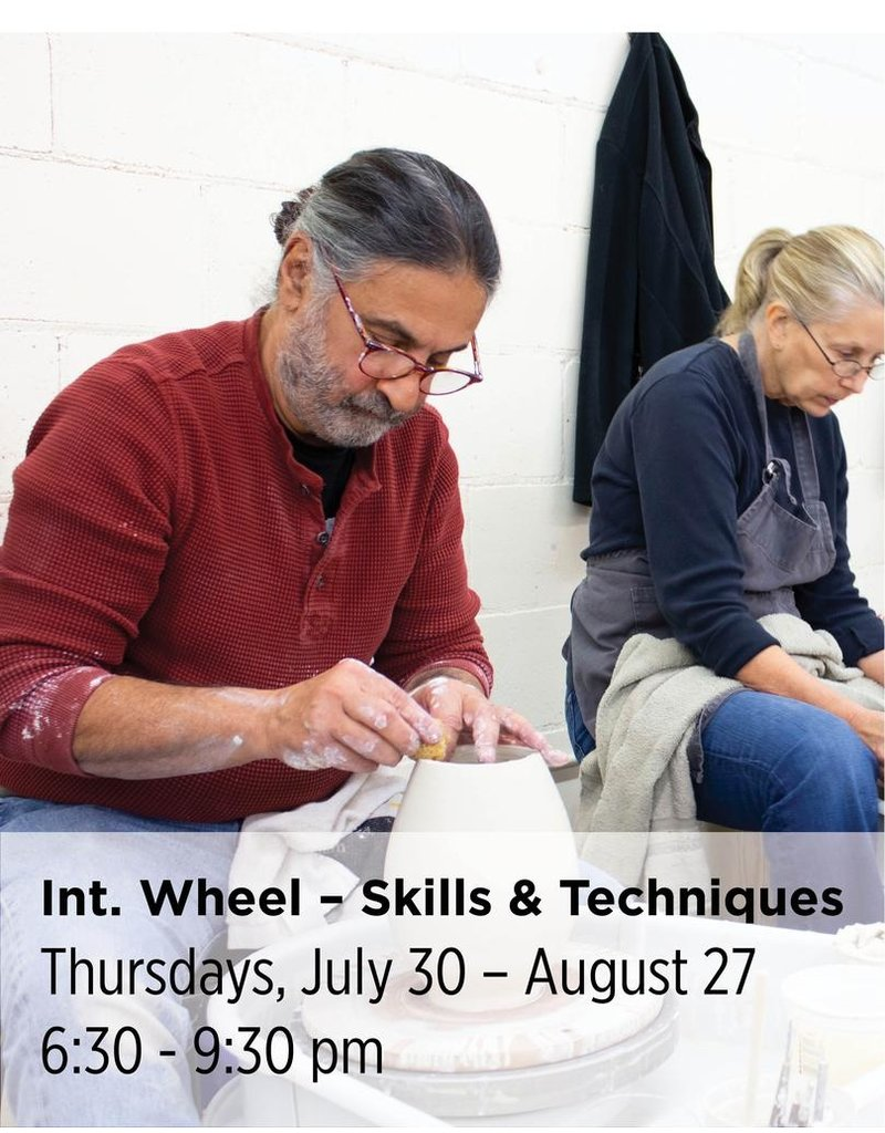 NCC Intermediate Throwing — Wheel 301 — Focus on Skills and Techniques