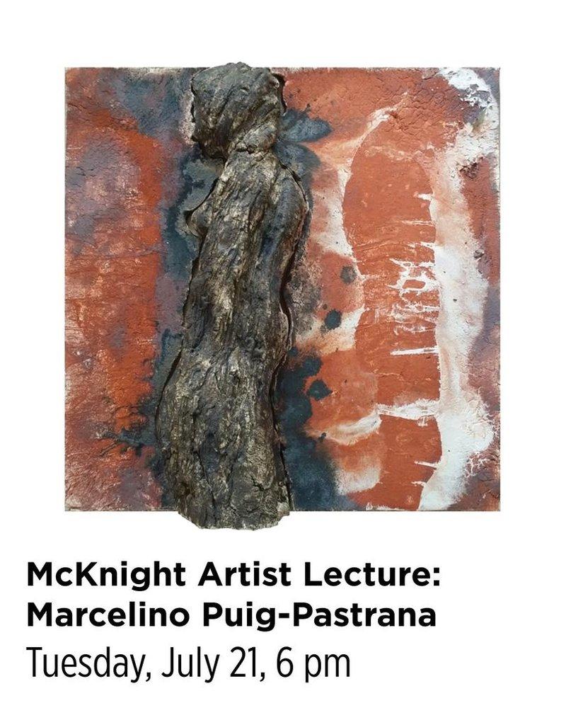 NCC McKnight Artist Resident Lecture:Marcelino Puig-Pastrana