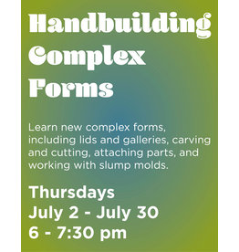 NCC Handbuilding Complex Forms