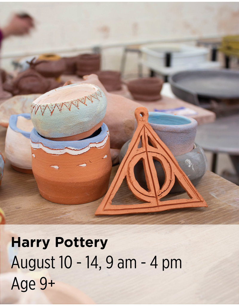 NCC Harry Pottery: This all-day camp is inspired by everyone's favorite child wizard.