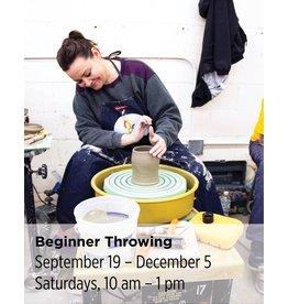 NCC Beginner Throwing—Wheel 201
