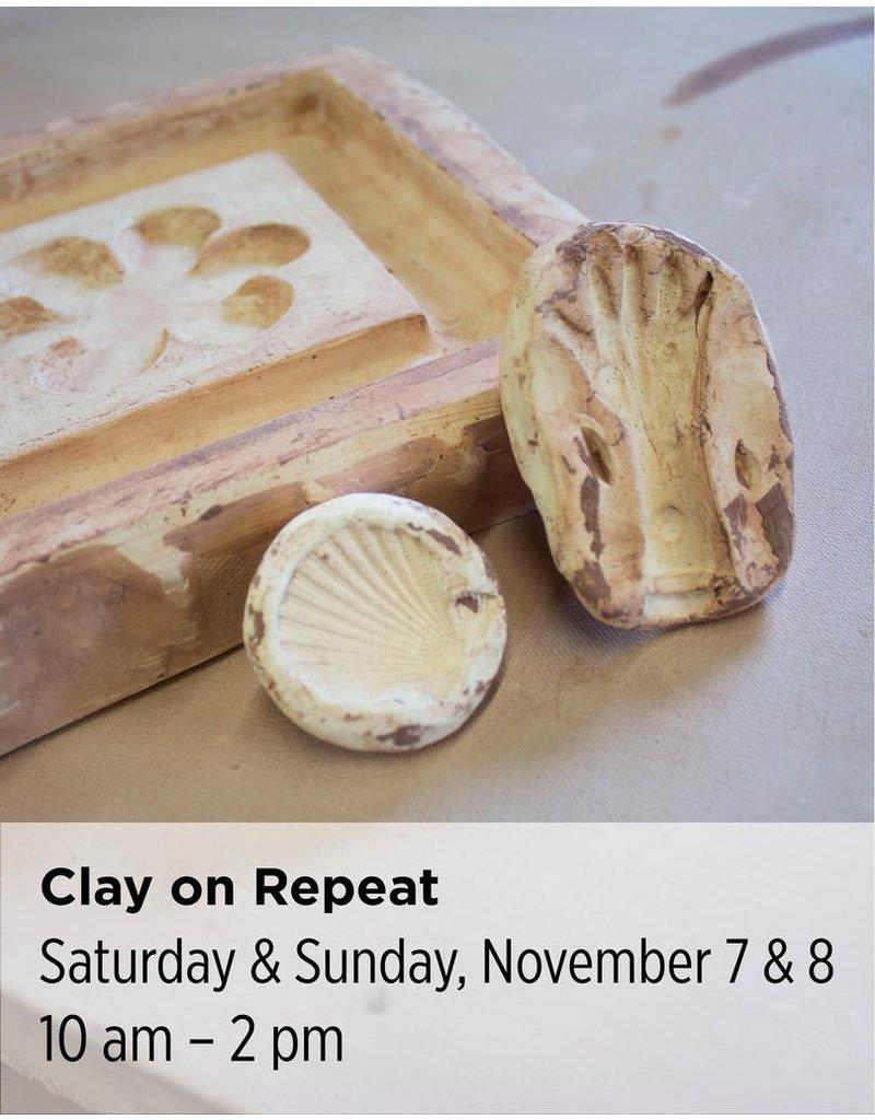 NCC Clay on Repeat: Moldmaking & Slipcasting 101