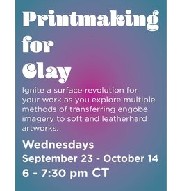NCC Printmaking for Clay