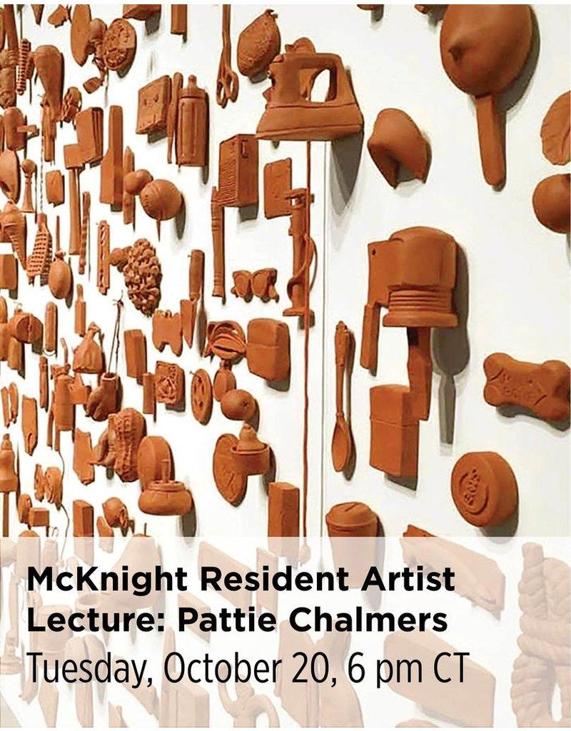 NCC McKnight Resident Artist Lecture: Pattie Chalmers