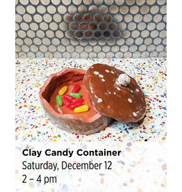 NCC Clay Candy Container