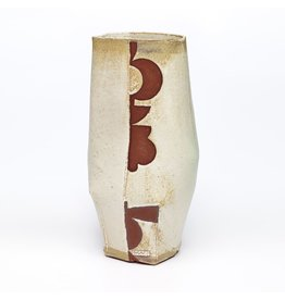 Vase, form by Marc Digeros, glaze by Pete Scherzer