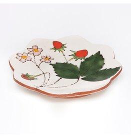 Salad Plate, form by Jason Bige-Burnett, glaze by Ursula Hargens