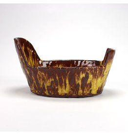 Head and Tails Bowl, form by Holly Walker, glaze by Lisa Orr