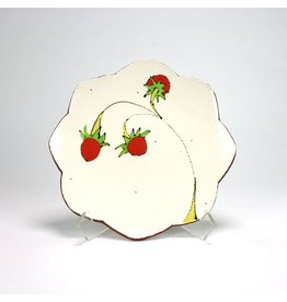 Salad Plate, form by Jason Bige-Burnett, glaze by Ursula Hargens