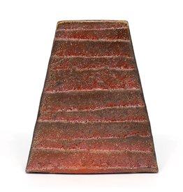 Shino Pyramid Vase