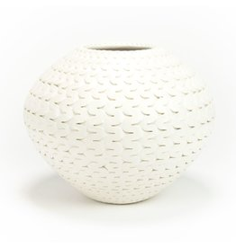 Michael Wisner White River Vase