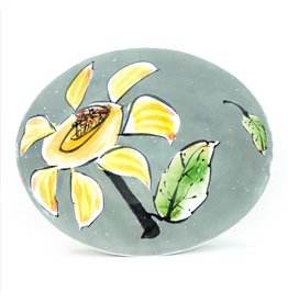 Linda Arbuckle Small Oval Plate
