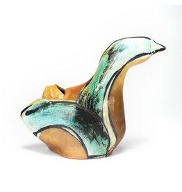 Large Bird Vase