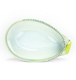Deborah Schwartzkopf Oval Serving Dish- Large