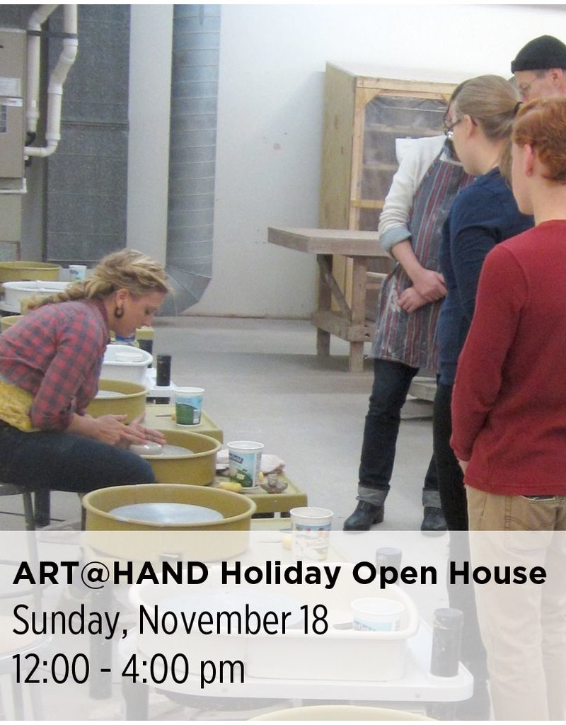 NCC ART@HAND Holiday Open House