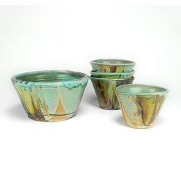 Sandra Daulton Shaughnessy bowl set of 5