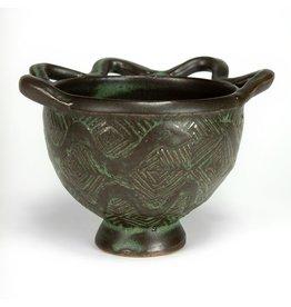 Peter Jadoonath Fringe Rim Bowl