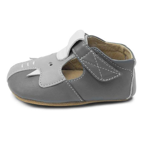 Livie and Luca Gray Elephant Baby Shoe Fall 2018