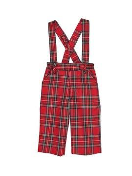 Florence Eiseman Tartan Classics Suspender Pants