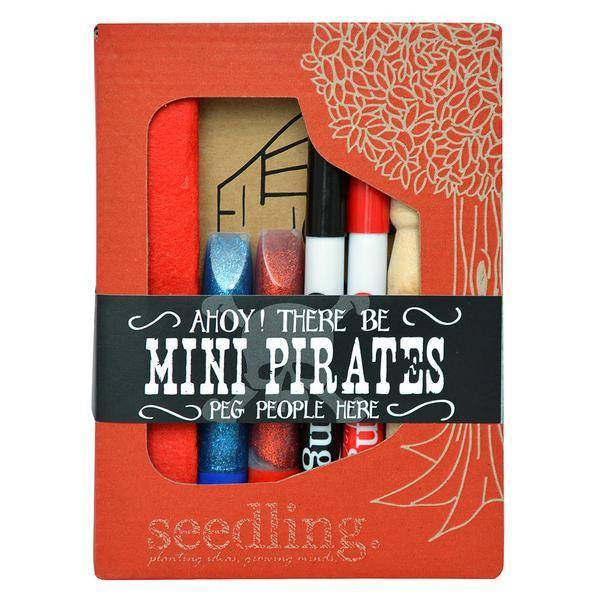Seedling Ahoy Mini Pirates Peg People