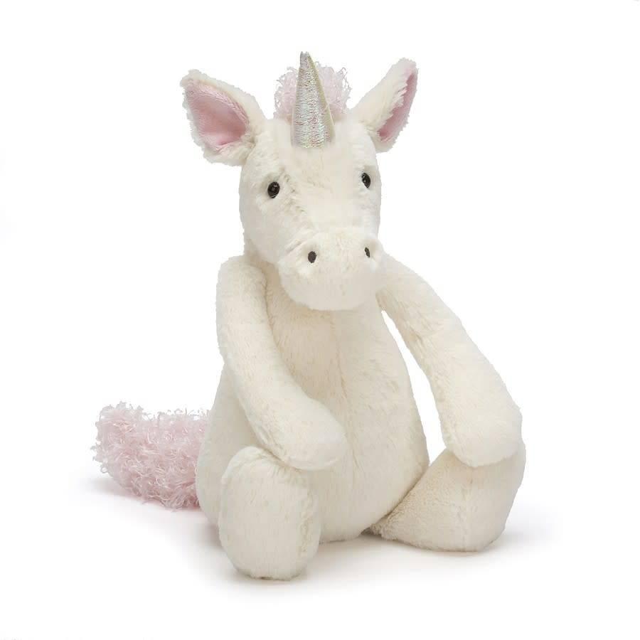 "Jellycat Bashful Unicorn Medium (12"")"